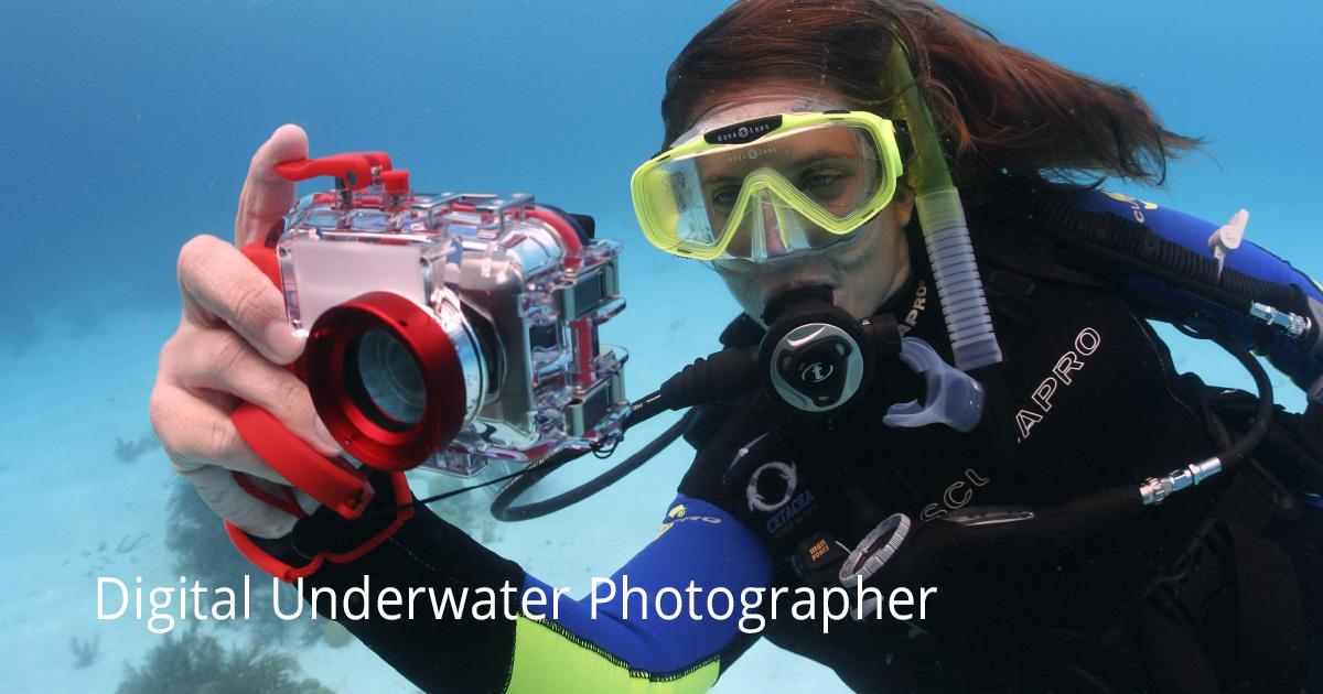 PADI Digital Underwater Photographer